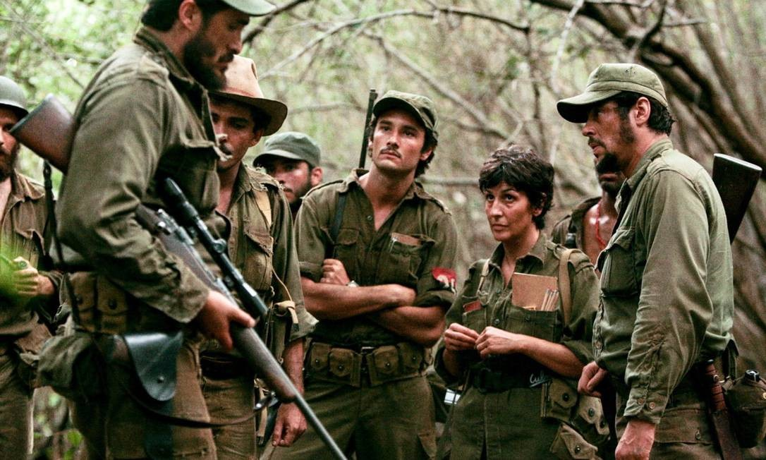 """Como Raúl Castro em """"Che"""" (2009) Foto: Divulgação"""