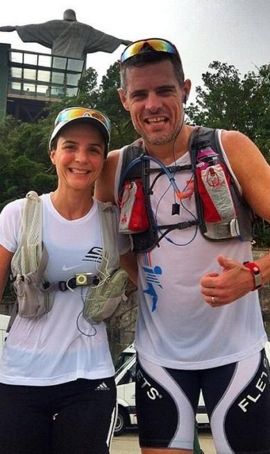 Adriana e Pedro Scripilliti dão dicas de ciclismo no @Free4run Reprodução / Instagram