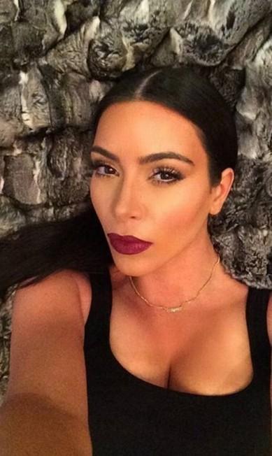 Mais um selfie de beleza Reprodução/ Instagram