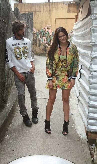 Mais um clique fashion da dupla Murillo Tinoco/ Divulgação