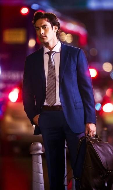 O modelo espanho Jay Zan já foi apontado como affair de Mariana Rios e Milena Toscano Fabio Seixo / Agência O Globo