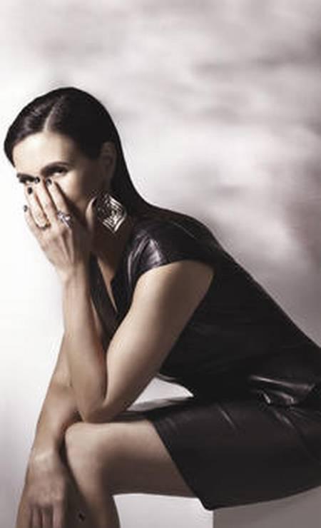 A jornlista e apresentadora Fatima Bernardes em retrato de Nana Moraes para o Caderno Ela Foto: Nana Moraes