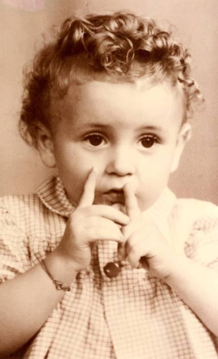 O pequeno Laurent Foto: Terceiro / Arquivo Pessoal
