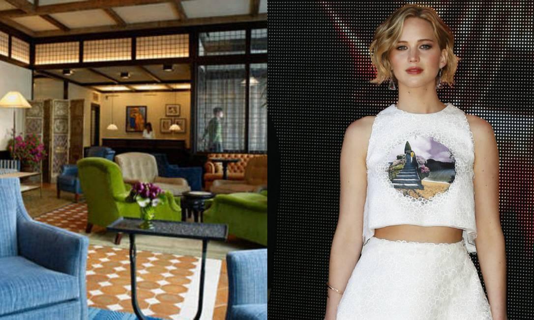 O hotel de Roberto De Niro, Greenwich, em Tribbeca, Nova York, é destino certo de Jennofwe Lawrence quando ela está na cidade. A diária custa cerca de R$ 1.495 Divulgação / AP