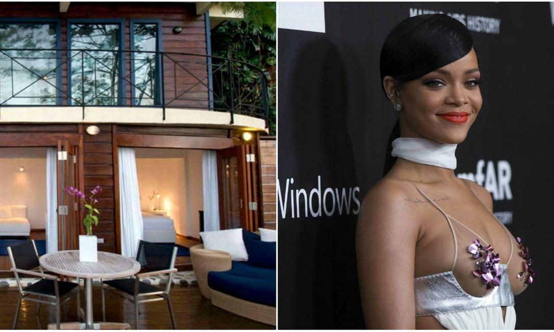 O trunfo do hotel Geejam, na Jamaica, é ter um estúdio musical em suas dependências. Astros da música, então, não faltam. Rihanna é uma das mais assíduas, mas também há Katy Perry e Gwen Stefani Divulgação / Reuters
