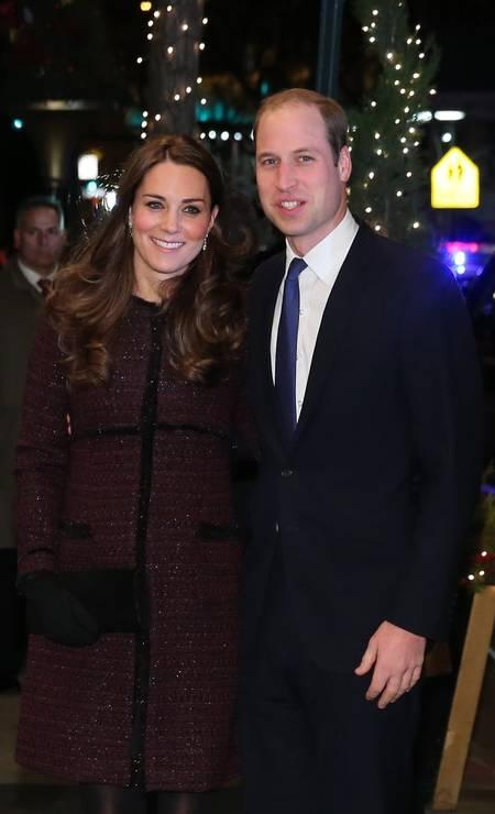 A visita do casal será de apenas dois dias. Na terça-feira, eles partirão Neilson Barnard / AFP