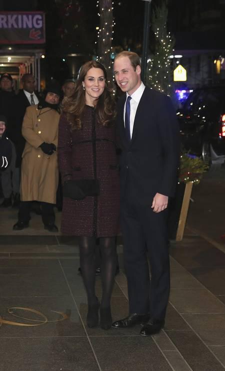 O look de outono do casal Neilson Barnard / AP