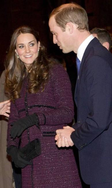Kate e William em Nova York Chad Rachman / AP