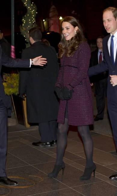 Kate e o príncipe William Chad Rachman / AP