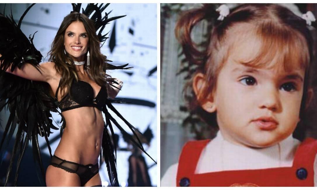 Hoje, algumas da mulheres mais cobiçadas do mundo. Ontem, bebês lindo, verdadeiros anjinhos. Reunimos imagens das angels da Victoria´s Secret quando eram bebês. Olha Alessandra Ambrósio que coisa mais fofa AFP /Instagram
