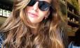 Iza Goulart: cabelos superbrilhantes