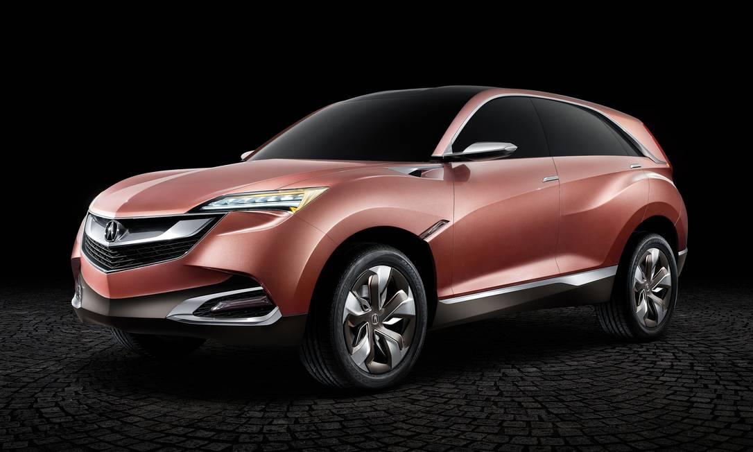 O carro importado Acura Concept SUV-X já tem a cor em seu mostruário AP
