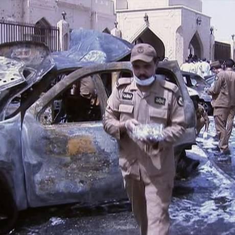 Ataque suicida em maio contra mesquita deixou vários mortos Foto: AP