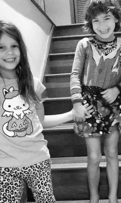 Aqui, Valentina, filha de Adriana Reprodução/ Instagram