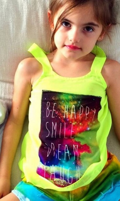 Agora, Anja, a filha mais velha de Alessandra Reprodução/ Instagram
