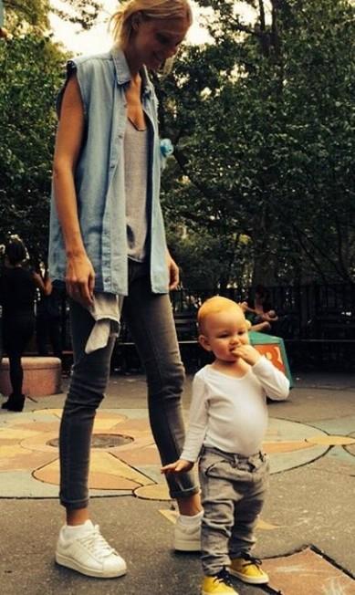 Carol Trentini é outra que costuma mostrar seu filho Bento nas redes sociais Reprodução/ Instagram