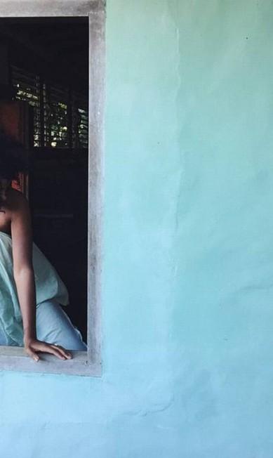 Pelo visto, Solange veio preparada para enfrentar o clima brasileiro. Na bagagem, muitas peças leves Reprodução/ Instagram