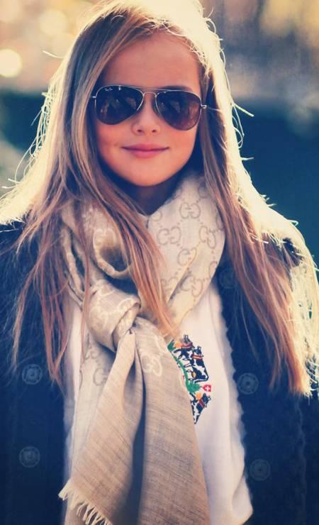 Kristina Pimenova com look fashionista Foto: Reprodução/ Facebook