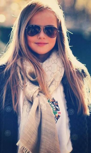 Kristina Pimenova com look fashionista Reprodução/ Facebook