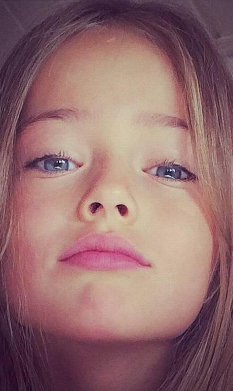 Tida como 'a menina mais linda do mundo', modelo de nove