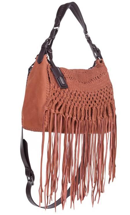 Bolsa de couro da Zibba. De R$ 1.379 por R$ 827,40 no e-commerce Glamour (www.glamour.com.br) Foto: Divulgação