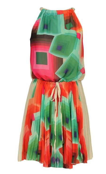 Vestido da Desigual. De R$ 509 por R$ 381,75 no e-commerce Glamour (www.glamour.com.br) Foto: Divulgação