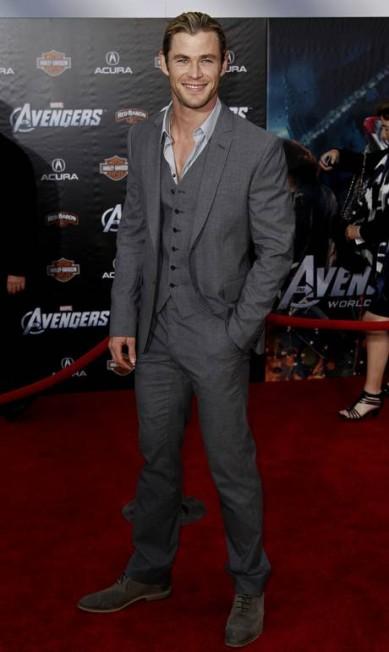 """Chris Hemsworth ainda tem no currículo os filmes """"Branca de neve e o caçador"""" e """"Rush - No limite da emoção"""" Matt Sayles / AP"""