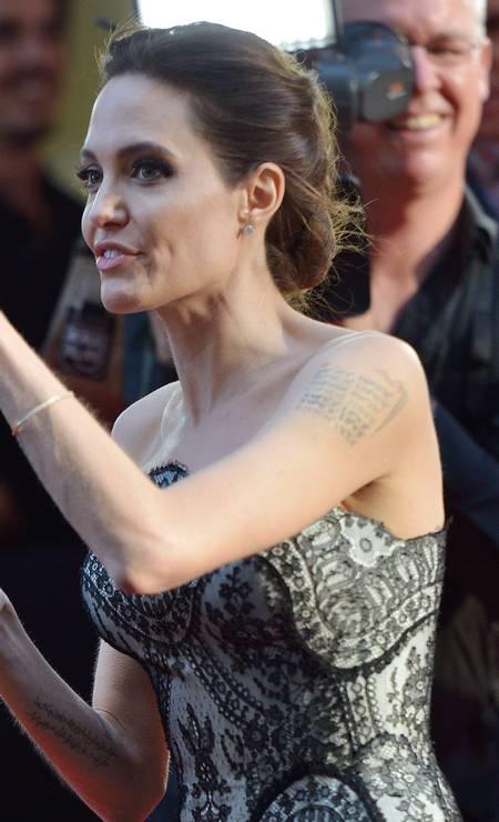 Angelina Jolie na Austrália Foto: PETER PARKS / AFP