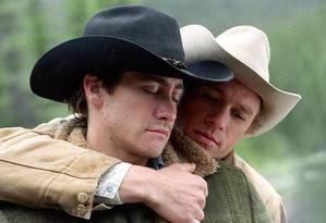 O Segredo de Brokeback Mountain: gays atraem a atenção feminina Foto: Divulgação