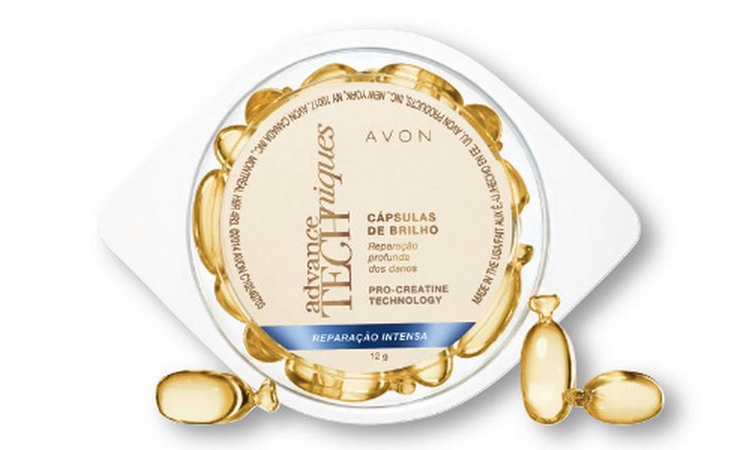 Ampolas de tratamento capilar da Avon (R$ 17,99) Foto: Divulgação / Divulgação