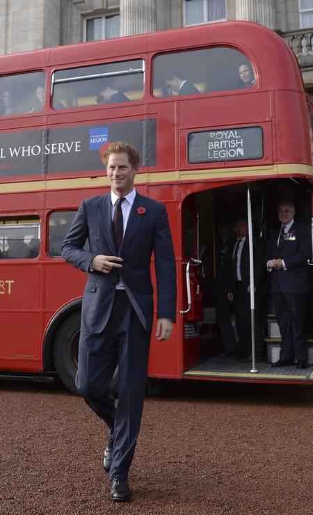 No time masculino, o grande representante dos neobalzaquianos é o príncipe Harry. Filho da princesa Diana e do príncipe Charles, o ruivo mais cobiçado da Inglaterra nasceu no dia 15 de setembro Stefan Rousseau / ap