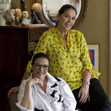 As sócias Carla Roberto e Lydia Duarte Foto: Daniela Hallack Dacorso / Agência O Globo