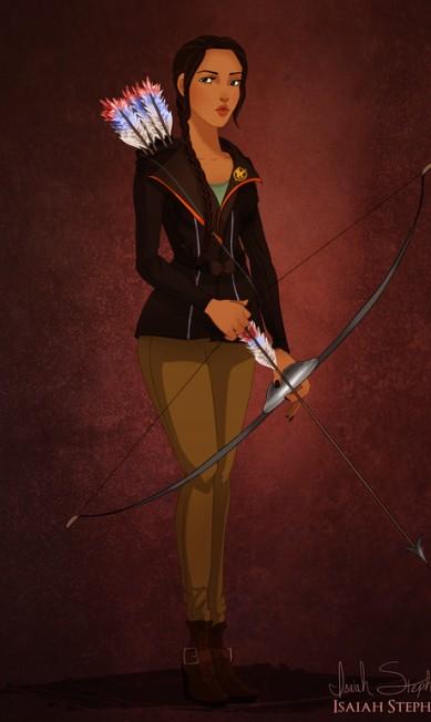 """Pocahontas desbancou Jennifer Lawrence no papel de Katniss Everdeen, de """"Jogos vorazes"""" Isaiah Stephens"""