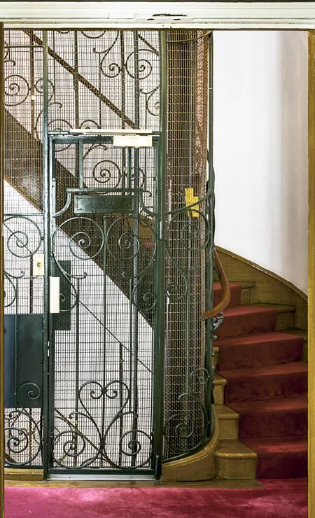 Só subir nesse elevador já vale a viagem Foto: divulgação / Sandro Oliveira