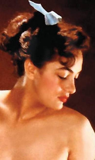 Dolores Del Monte nos tempos de coelhinha Reprodução