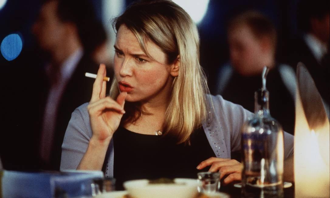 """Mais """"cheinha"""" como Bridget Jones, em 2001 Foto: Divulgação"""