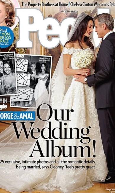 Foi ele quem criou o vestido de noiva de Amal Alamuddin para o badalado casamento com George Clooney © People