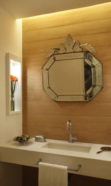 No lavabo, espelho é destaque divulgação / Divulgação