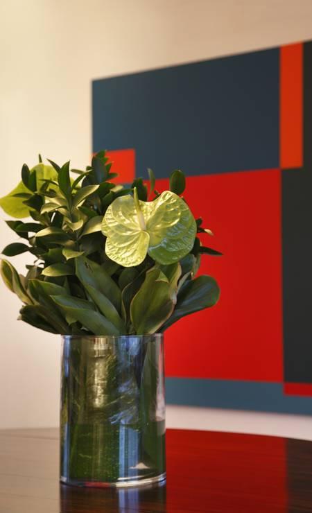 Close no arranjo de flores Foto: divulgação / MCA Studio