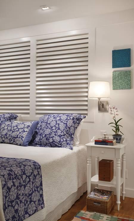 Detalhe do quarto do casal Foto: divulgação / MCA Studio