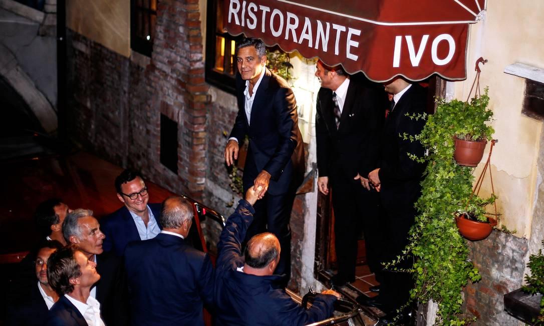 O tradicional restaurante Da Ivo é um dos mais famosos de Veneza Pierre Teyssot / AFP