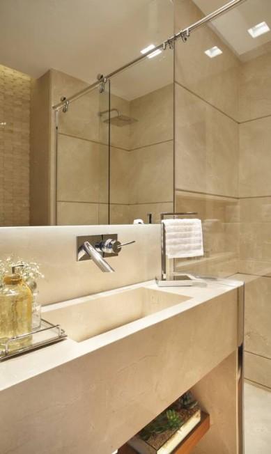 O banheiro do apartamento MCA Studio / Divulgação