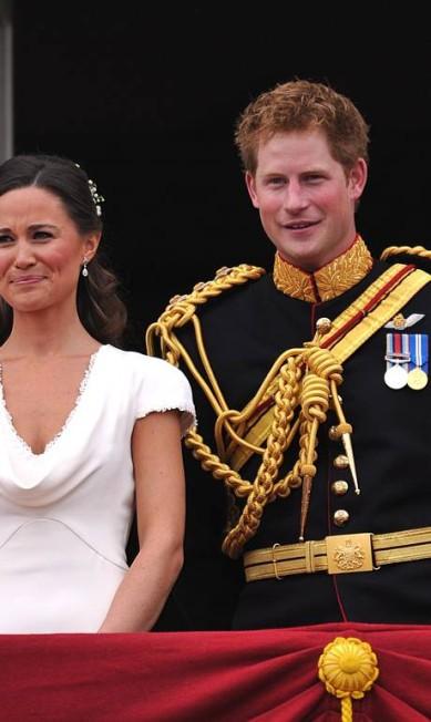 Os irmãos caçulas: ao lado de Pippa Middleton, durante o casamento do príncipe William com Kate Middleton JOHN STILLWELL / AFP