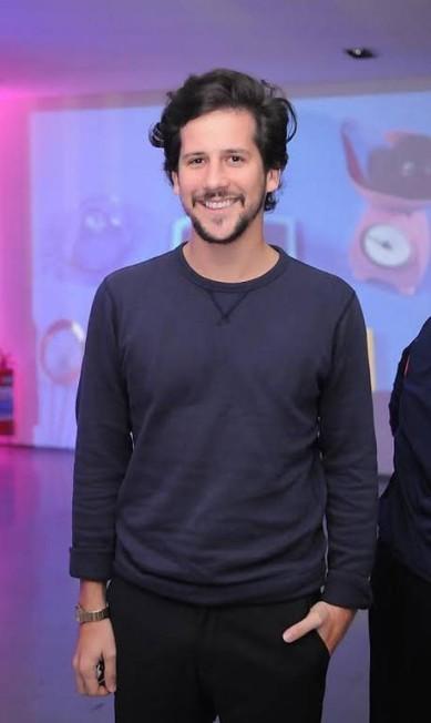 O apresentador do GNT, Caio Braz, também esteve no evento Murillo Tinoco / Divulgação