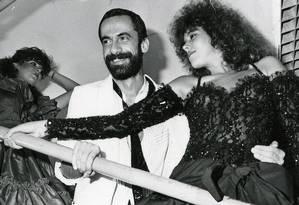 O costureiro das famosas Markito foi um dos primeiros brasileiros oficialmente infectados com a Aids Foto: Arquivo