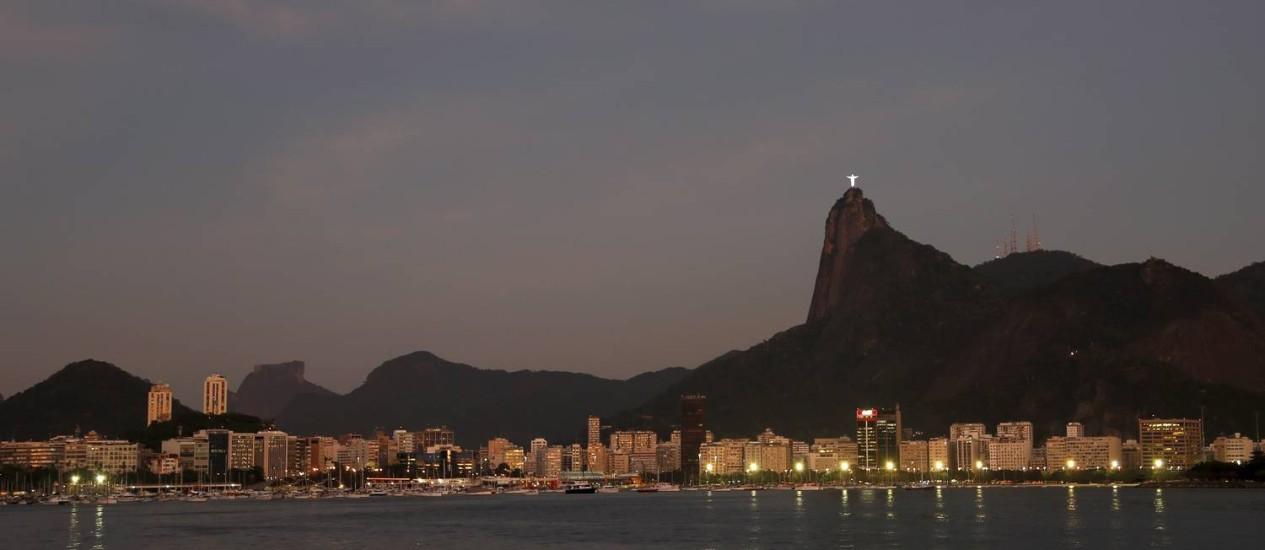 Vista de parte da Zona Sul do Rio Foto: Hudson Pontes / Agência O Globo