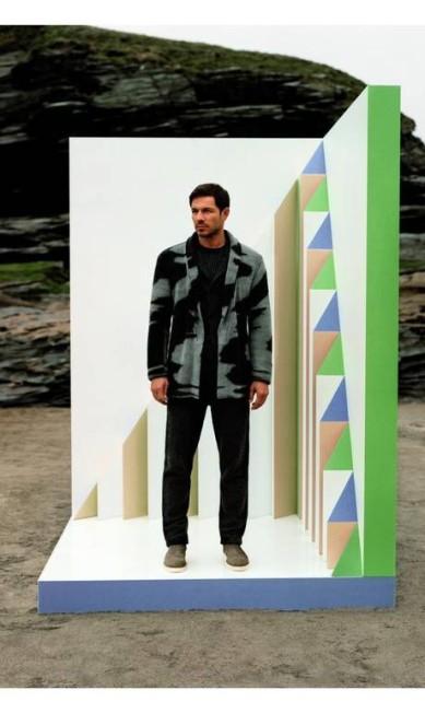 O modelo britânico Paul Sculfor também está na lista Divulgação
