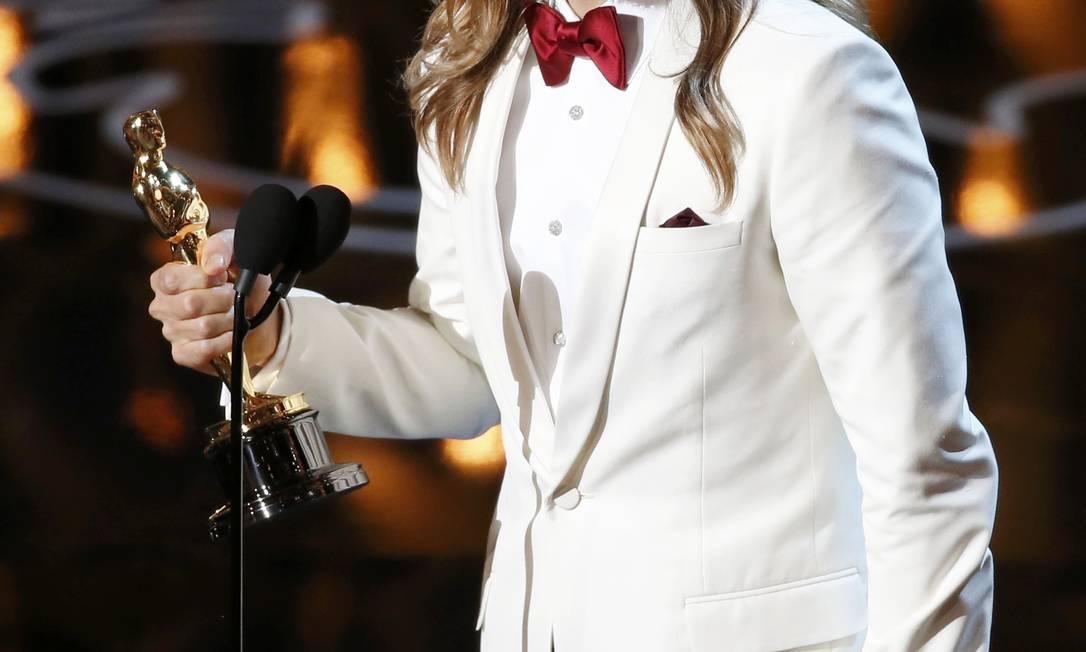 A atriz também já esteve envolvida com o cantor e ator Jared Leto, vencedor do Oscar em 2014 LUCY NICHOLSON / REUTERS
