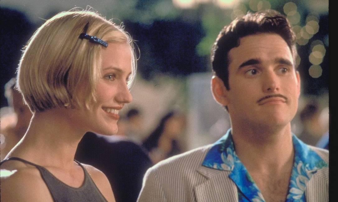 Entre 1995 e 1998, Cameron namorou o ator Matt Dillon Divulgação