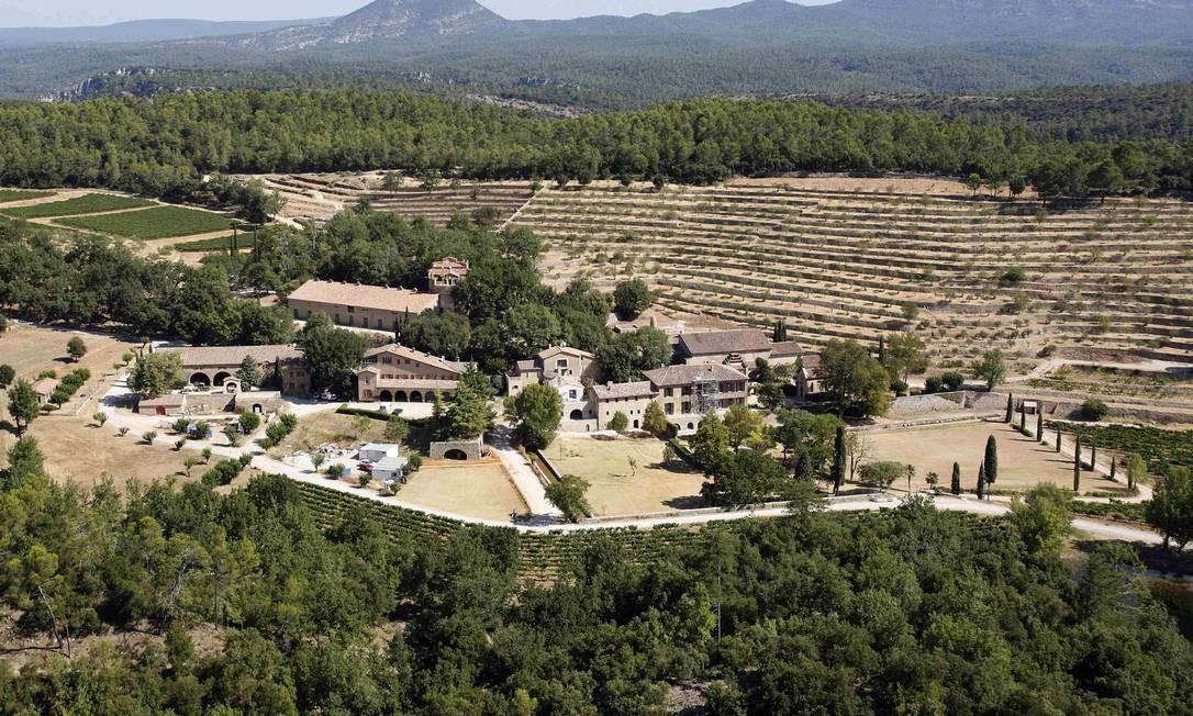 Vista do Chateau Miraval, onde Angelina e Brad se casaram PHILIPPE LAURENSON / REUTERS